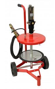 Pompă pneumatică de gresat
